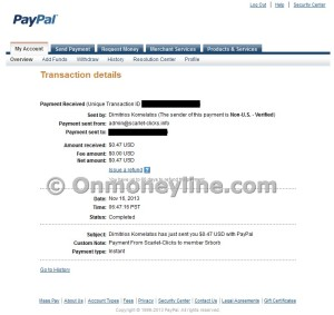 Scarlet-Clicks Payment Proof Paypal Photo