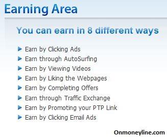 CashnHits Earning Area