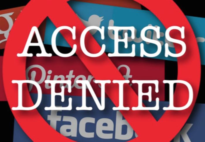Social Media Link Website Blocked - Access Denied!