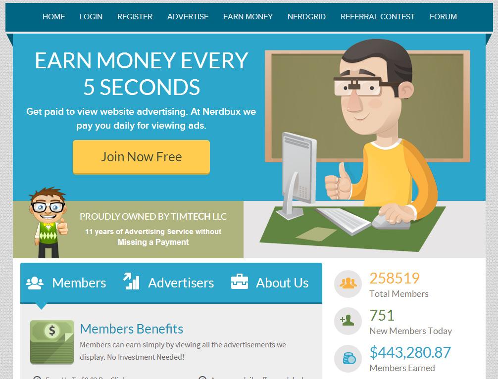 nerdbux-earn-money-every-five-seconds