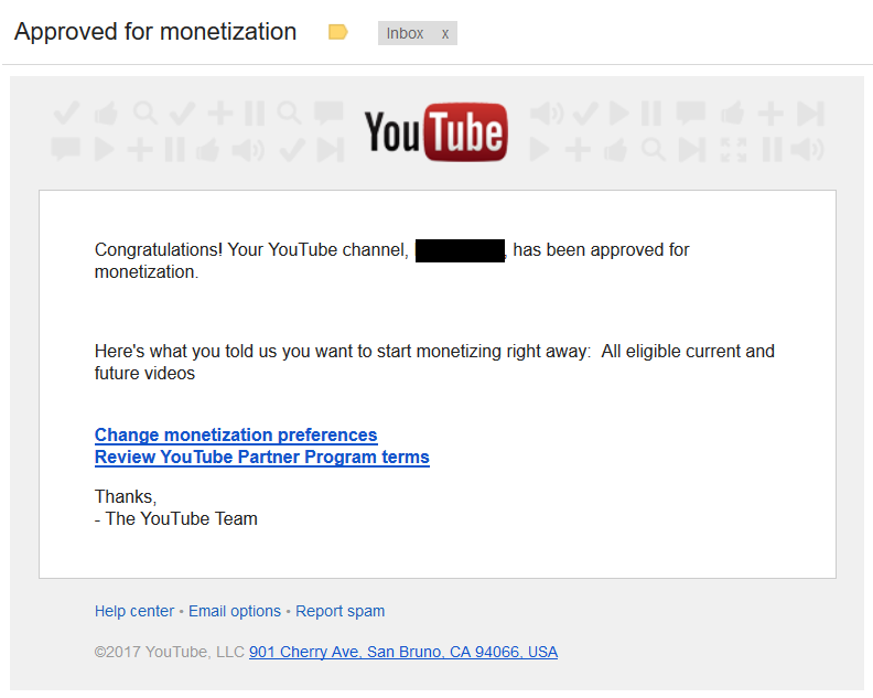 approved-for-monetization-youtube-channel-adsense